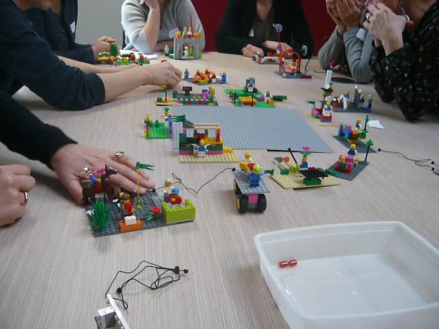 Lego Serious Play au service de l'expérience Client